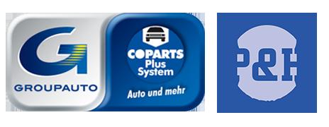 COPARTS PLUS SYSTEM logo